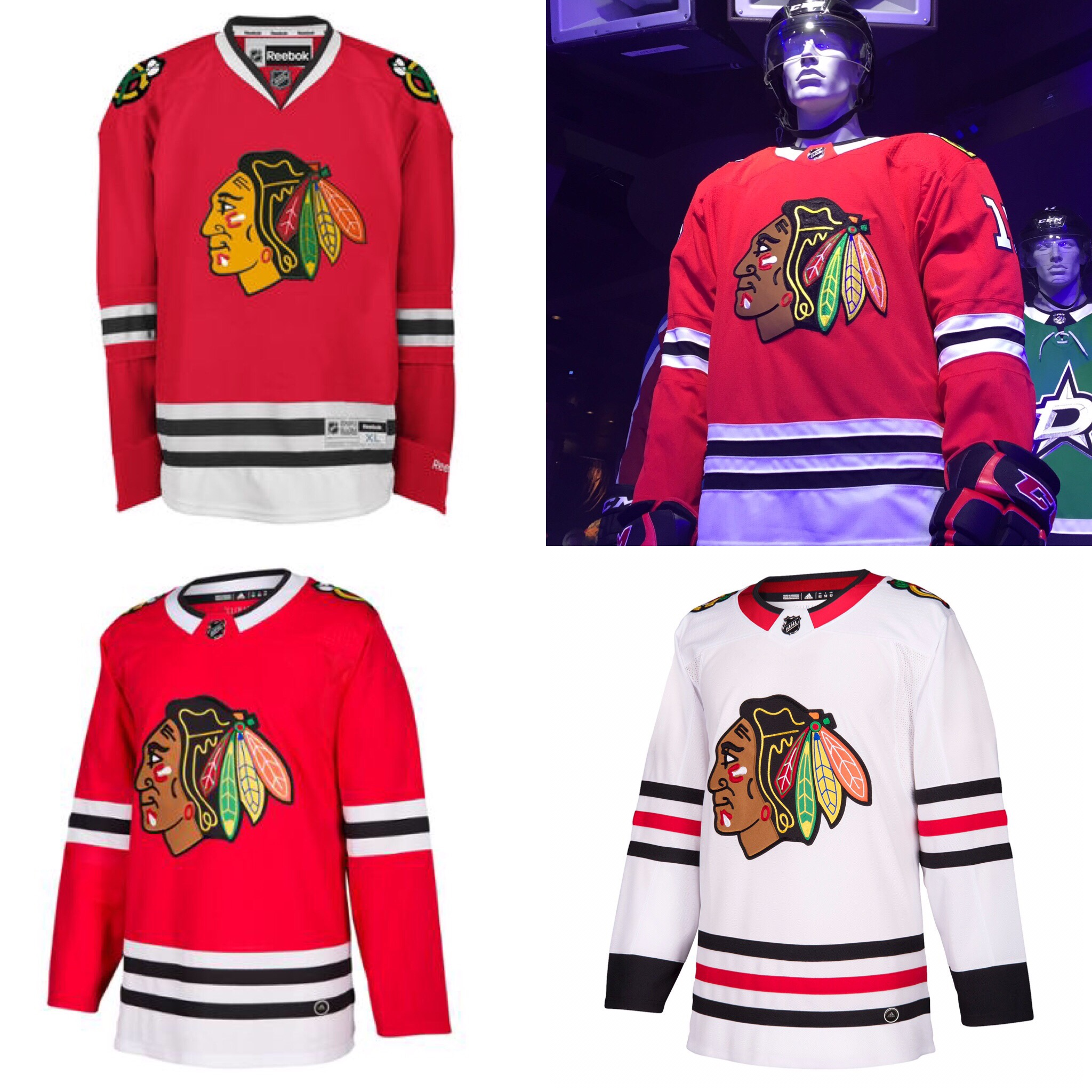 Fashion Police  Reviewing all 31 new Adidas NHL jerseys – chicago ... 5baf06b37